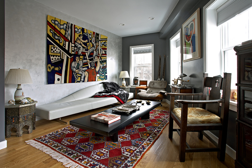 greenwich village townhouse makeover