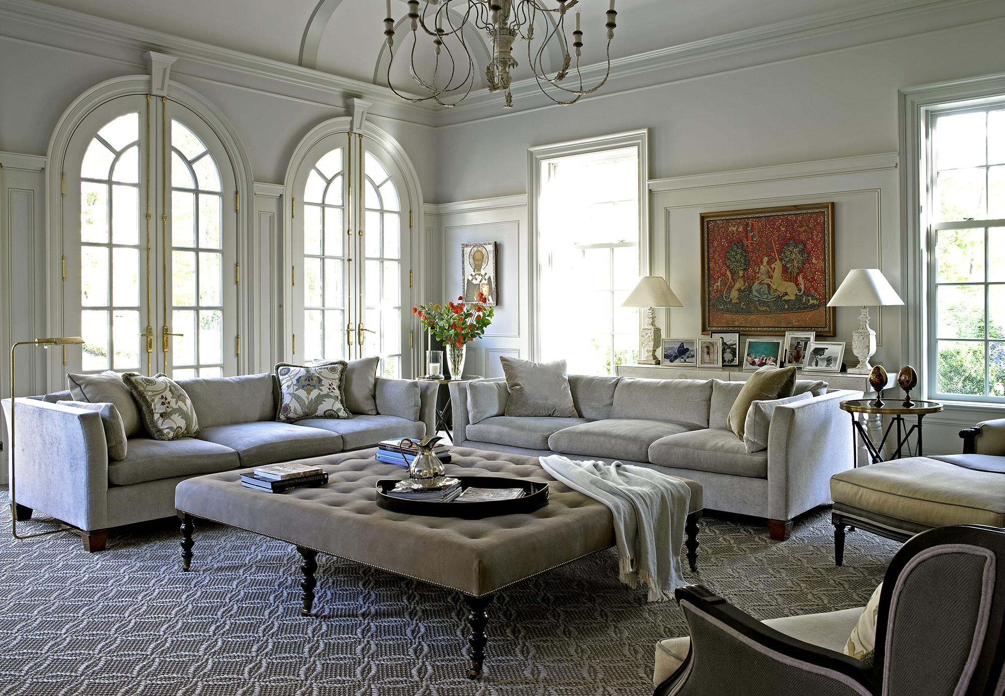 Mid Century Modern; Living Room Office Design